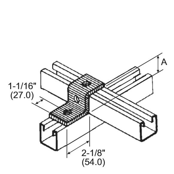 Steel Channel Strut Fittings